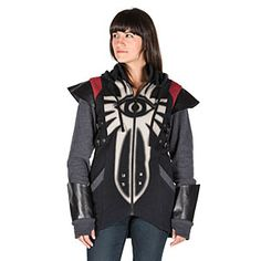 Take on the persona of Cassandra from the Dragon Age series and also her armor with this Cassandra Believe Plate Hoodie.