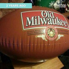 #inflatables #NFL #football #oldmilwaukee Milly