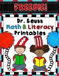 FREEBIE!  Dr. Seuss Math and Literacy Printables (Worksheets)
