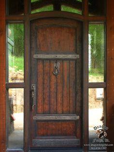 American Craftman Style Front Door Hardware