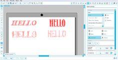 HELLOSKETCHFONT B Line, Text Style, Silhouette Cameo, Pop Up, Cricut, Portrait Ideas, Sketch, Tutorials, Books