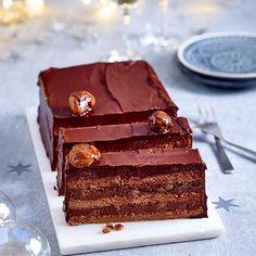 Schokoladen-Maronen-Kuchen Rezept | LECKER Nutrition, Tiramisu, Sweets, Vegan, Ethnic Recipes, Desserts, Food Porn, Conkers, Food