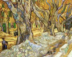 Grandes plátanos - Vincent Van Gogh