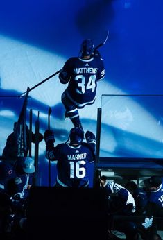 Get your blue on Hockey Baby, Hockey Girls, Ice Hockey, Boys, Toronto Maple Leafs Wallpaper, Wallpaper Toronto, The Deal Elle Kennedy, Patrick Kane Hockey, Mitch Marner