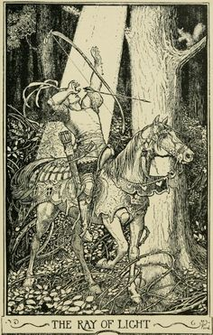 Little Wildrose - The Crimson Fairy Book by Andrew Lang, 1903