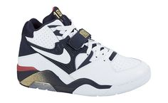 a5b180e6ffd351 Nike Air Force 180 Olympic Release Date White Midnight Navy Metallic Gold  310095 100