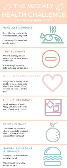 The Weekly Health Challenge More