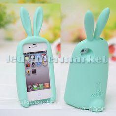 Base para celular con diseño de conejo