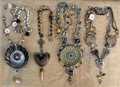 Creativity By-the-Sea: Wearing What You Found: Creating Found Object Jewelry