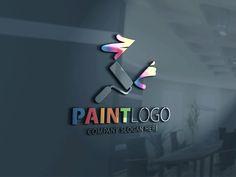 Paint Logo by CreativeDezing on @creativemarket