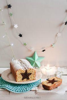 plumcake all'arancia con stella al cioccolato (1)
