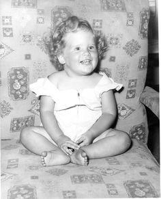 Karen (me) as a toddler