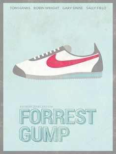 FORREST GUMP Movie Poster Tom Hanks Print Poster by BaydleCreative