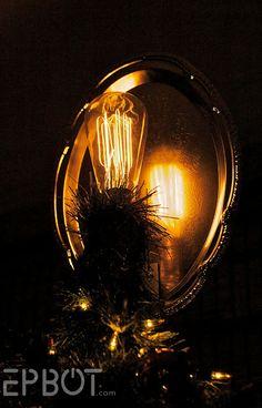 lightbulb tree topper