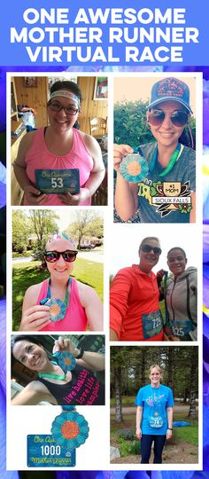 We are so overjoyed with the awesome amount of participation in our One Awesome Mother Runner 5K Virtual Race! Thank you so much to everyone who has shared their positive experiences!