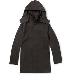 Mackintosh Dunoon Handmade Bonded-Cotton Hooded Rain Coat        | MR PORTER