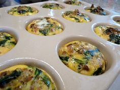 Primal Egg cupcakes...quick & healthy make ahead breakfast!