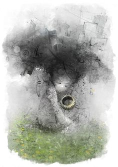 1 by smokepaint on DeviantArt Hair Illustration, Conte, Art Director, Illustrators, Digital Art, Creations, Deviantart, Gallery, Painting