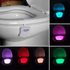 Prezzi e Sconti: #Automatic motion sensor colorful led toilet  ad Euro 6.85 in #Home #Moda