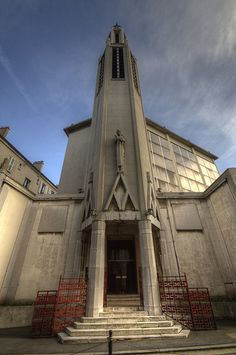 Eglise Sainte-Agnès.Charenton-le-Pont, Ile-de-France