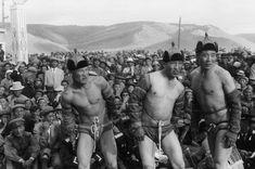 Henri Cartier-Bresson - Ulaanbaatar, Mongolia 1958