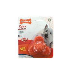 Wobble & Spin de Nylon para Perros Sabor a Pollo - Nylabone® Dura Chew Spinning, Medium Dogs, Baddies, Toys, Hand Spinning, Indoor Cycling