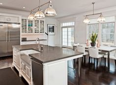 Kitchen Islands With Sink And Seating