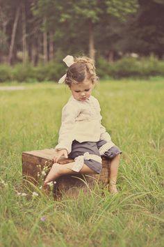 Charlotte pantaloons - Violette field