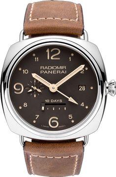 Часы наручные Officine Panerai Radiomir 10 Days GMT Limited Edition 300 PAM00391