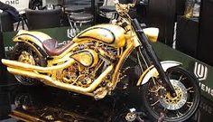 Gold bike!