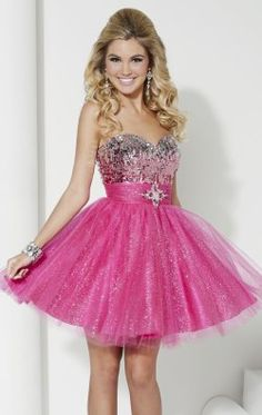 Sweetheart Sparkle Tulle Dress by Hannah S 27964