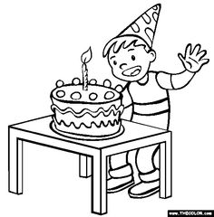 58 Best Happy Birthday coloring Pages images in 2016