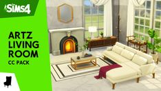 Les Sims 4 Pc, Sims 4 Mm, Sims 4 Game Mods, Sims Mods, Maxis, Living Room Sims 4, Sims 4 Cc Furniture Living Rooms, The Sims 4 Packs, Sims 4 Game Packs