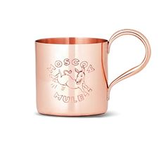 Moscow Mule Mug, Copper (These are also available without the logo, but the logo is traditional.  I have some of each kind).