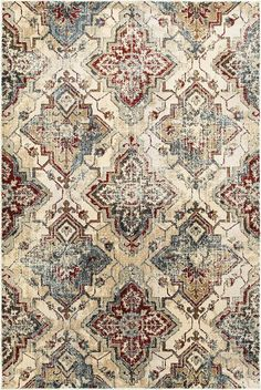 Oriental Weavers Empire Area Rug - This Ivory - Gold rug is an excellent choice for your house. Find out why others choose to shop with RugStudio Wall Carpet, Rugs On Carpet, Carpets, Shaw Carpet, Buy Carpet, Papel Vintage, Vintage Decor, Empire Design, Affordable Rugs