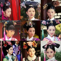 . Oriental Fashion, Chinese Fashion, Oriental Style, Asian Hair Accessories, The Journey Of Flower, Empresses In The Palace, The Empress Of China, Chinese Style, Chinese Hair