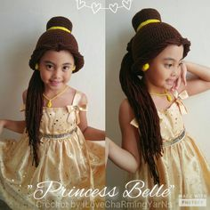 Hey, I found this really awesome Etsy listing at https://www.etsy.com/listing/467687101/belle-belle-hat-disney-princess-belle