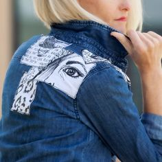 Patches are hot for fall, create your own with this DIY Sketched Patches tutorial.