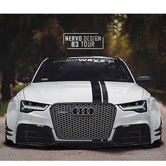 Repost via Instagram: Aggressive AF #audi Owner @b3tour Photo by @nervodesign Via @audi.gram #modifiedsociety by modifiedsociety