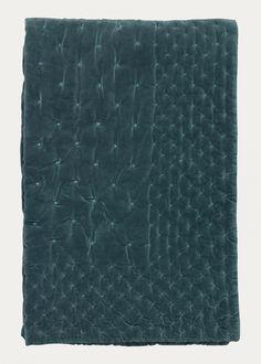 Biancheria Store Quilt Couette d/ét/é fabriqu/ée en Italie Couvre-lit matelass/é New York NY Gris Jaune