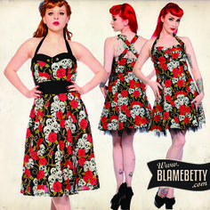 Skulls and roses? Yes please! #blamebetty