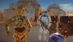Star Wars Virtual Reality Demo Rocks