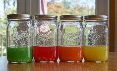 Next time there's drinks with the girls (could be a while...) I'd like to try making this Skittle vodka and soda!