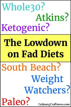 The Lowdown on Fad Diets |
