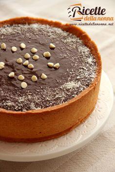 Crostata cocco, mandorla e ganache al cioccolato - Chocolate Tart