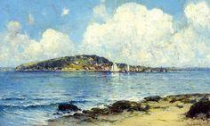 Coastal Scene by Robert Julian Onderdonk — Found via Artful for Mac — http://artfulmac.com