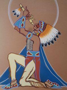by Barthell Little Chief (Kiowa)