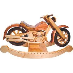 Roarin Rocker Motorcycle Plan - www.Rockler.com Woodworking Tools