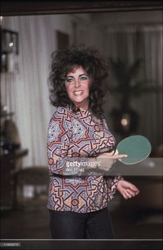 3f865dabd File pictures of Liz Taylor In United States-Liz Taylor playing ping-pong