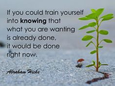 #AbrahamHicks #Thoughts #Knowing